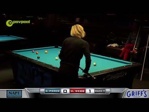 6  10 BALL  Kim PIERCE vs Monica WEBB  2017 NAPT Desert Challenge