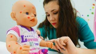 Мультики и игры для девочек: лечим Беби БОН Эмили. Пупсики и ляльки - игрушки для девочек.(Познавательные мультики и игры для девочек с игрушками Беби Бон Эмили. Ухаживай как мама, когда заболеют..., 2016-10-31T10:44:48.000Z)