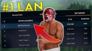 ASI LLEGUE A #1 LAN   League of Legends