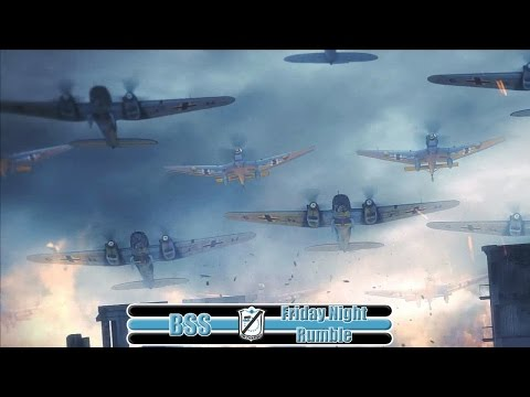 [IL-2:BoS] He-111 bomber run on Soviet Train Depot