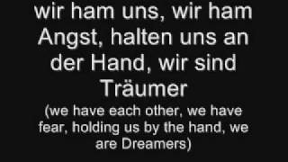 Tokio hotel- Träumer (with lyrics and translation)