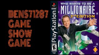 Who Wants To Be A Millionaire 3rd Edition PS1 Game 10