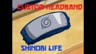 Roblox: Shinobi life QA - Custom headbands
