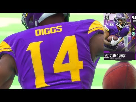 new products b1024 21c33 LIMITED EDITION 2018 NFL PLAYOFFS Stefon Diggs PULL! AND GAMEPLAY! Madden  18 Ultimate Team