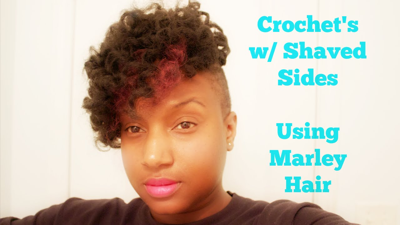 Crochet Hair Shaved Sides : Crochets w/ Shaved Sides - YouTube