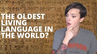 The Oldest Living Language In The World? | REACTION!!!