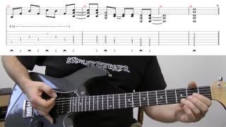 Gitarre lernen - MEGAKLIPPO - Taste Of Honey - Lesson