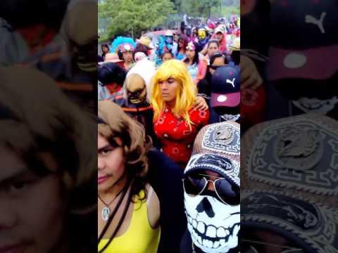 Cierre de carnaval Ameluca Pantepec Puebla