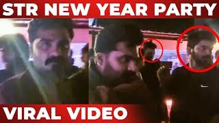 Simbu Celebrates New Year 2019 Party | Mahat | Bigg Boss Aishwarya | VJ Ashiq