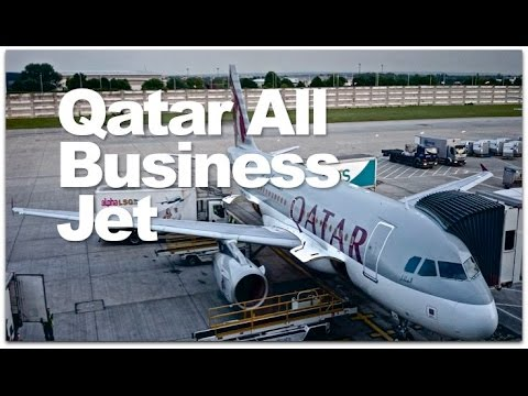 Qatar Airways Business Class Private Jet Review | Qatar's A319 Business One Class Flight