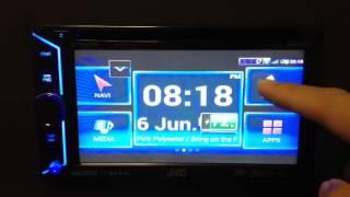 Demo de la aplicación JVC Smart Music Control