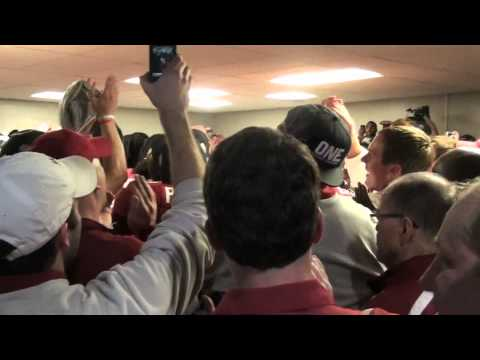 Alabama Fight Song From Locker Room Youtube