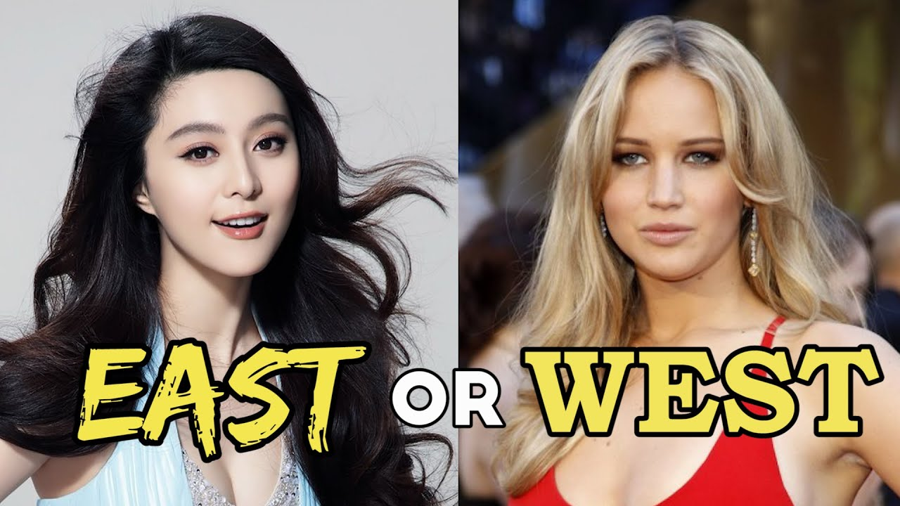 Asian vs western women