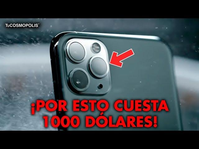 Por esto el NUEVO iPHONE 11 CUESTA 1000 DÓLARES