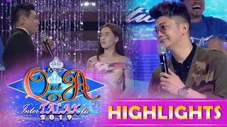 It's Showtime Miss Q & A: Kuya Escort Ion calls Ate Girl Jackque his wife