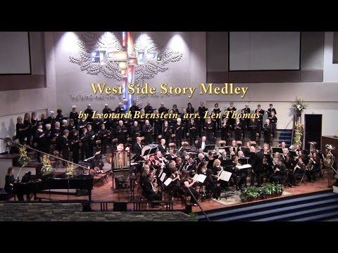 West Side Story Medley by Leonard Bernstein arr.  Len Thomas