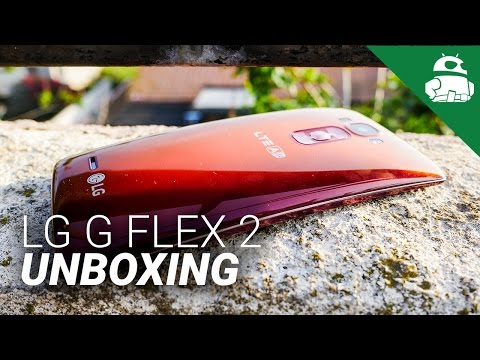 LG G Flex 2 Unboxing and First Impressions