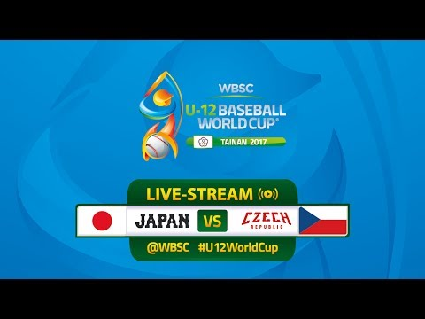 Live: Japan v Czech Republic - U-12 Baseball World Cup 2017
