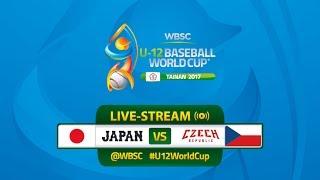 Live: Japan v Czech Republic - U-12 Baseball World Cup 2017 thumbnail