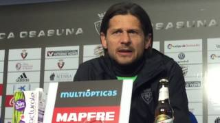 Petar Vasiljevic. Previa Las Palmas Osasuna