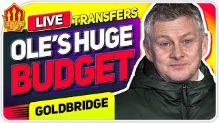 Solskjaer's 150 MILLION Transfer Budget! Man Utd Transfer News