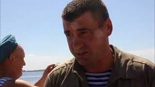 Глава саратовской полиции Андрей Чепурной десантировался на Волгу