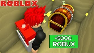 THIS CHEST GIVES YOU FREE ROBUX in ROBLOX