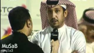 تصـريح تركي الثقفي حول عقده  ورد الأمير فهد بن خالد.