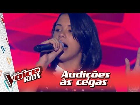 Allyne Conrado canta 'Esse Tal de Rock Enrow' na Audição – 'The Voice Kids Brasil' | 3ª Temporada