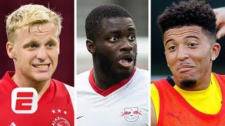 Does Van de Beek and Upamecano IN mean Jadon Sancho will REMAIN at Dortmund? | Man Utd Transfer news