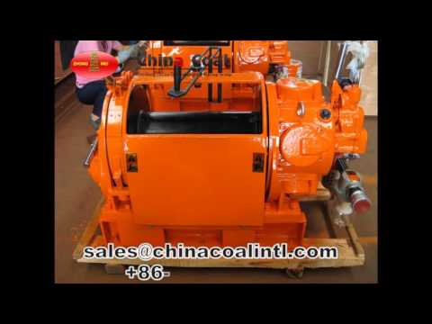 Anti-explosion Air Tugger Winch