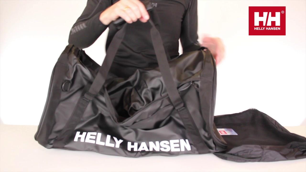 7e3a57d31884 Helly Hansen Duffel Bag 2 70L - Full Product Presentation   Demonstration