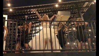 Nevada bride surprises groom with s exy dance