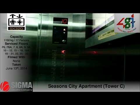 Sigma Traction Lifts at Seasons City Apartment, Jakarta (Tower C)