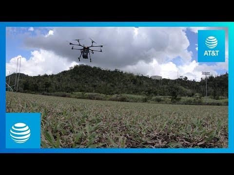 Drone 'Skypod' to Deliver Vital Medicine in Puerto Rico Crisis | AT&T