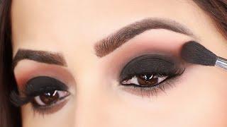 घर बैठे स्मोकी ऑय मेकअप कैसे करें  How to Do Perfect Smokey Eyes in 3 Steps | Deepti Ghai Sharma