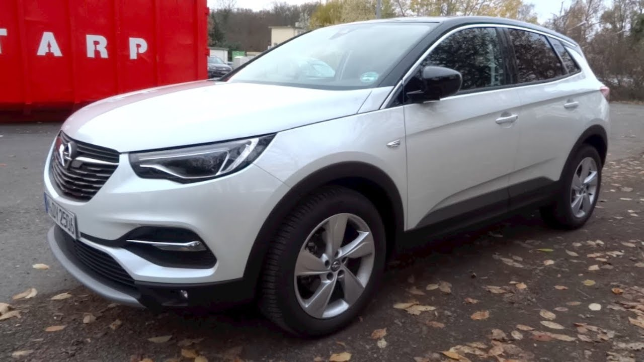 2019 Opel Grandland X 1.2 Turbo 130 S/S INNOVATION Start-Up and Full Vehicle Tour