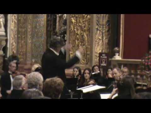 Malta-Valletta: A Prelude to Christmas 2010 (1 of 3) - Brian Cefai & Amadeus Chamber Choir