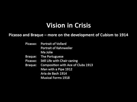 A history of modern art in 73 lectures: lecture 22 (Cubism)