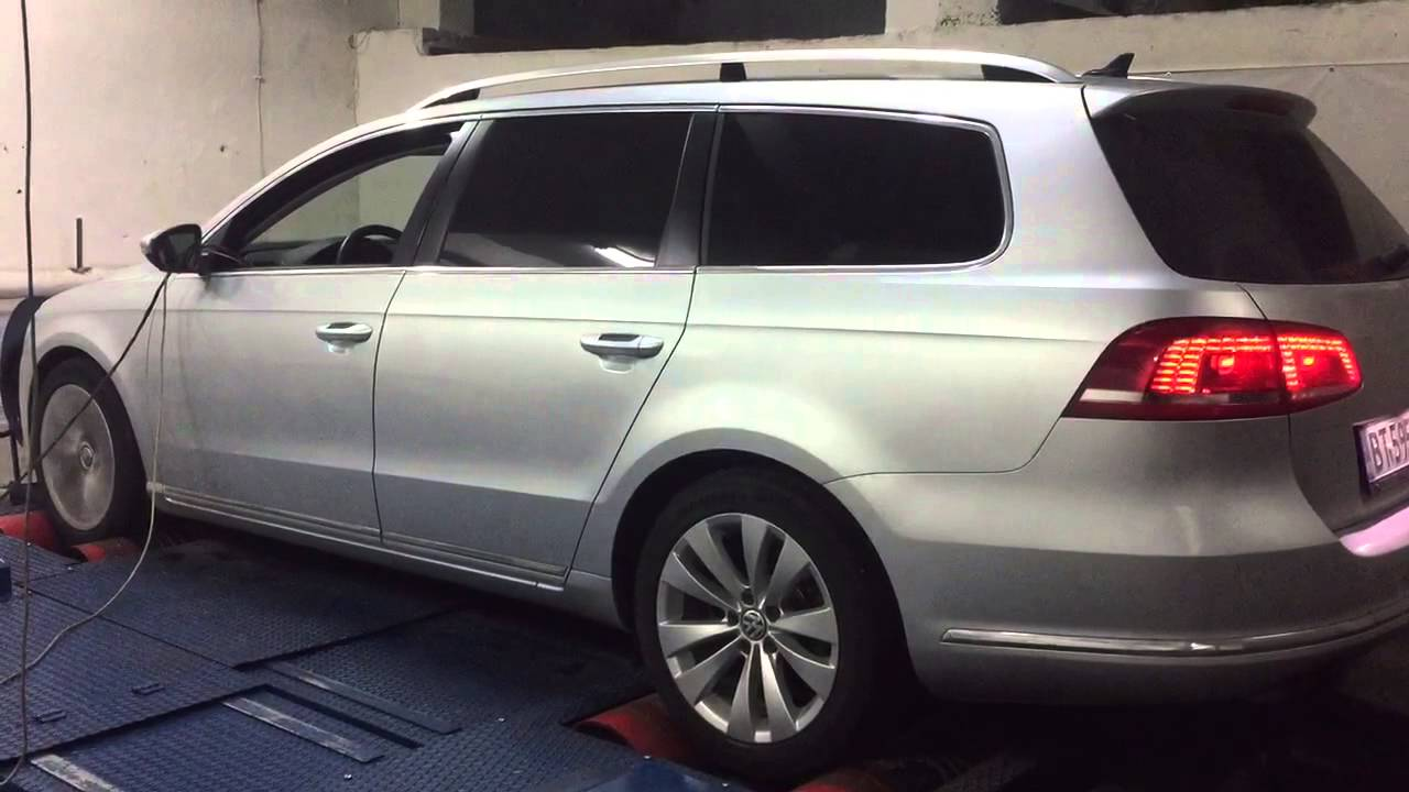 VW Passat B7 2.0tdi CR 140hp Chip tuning - YouTube