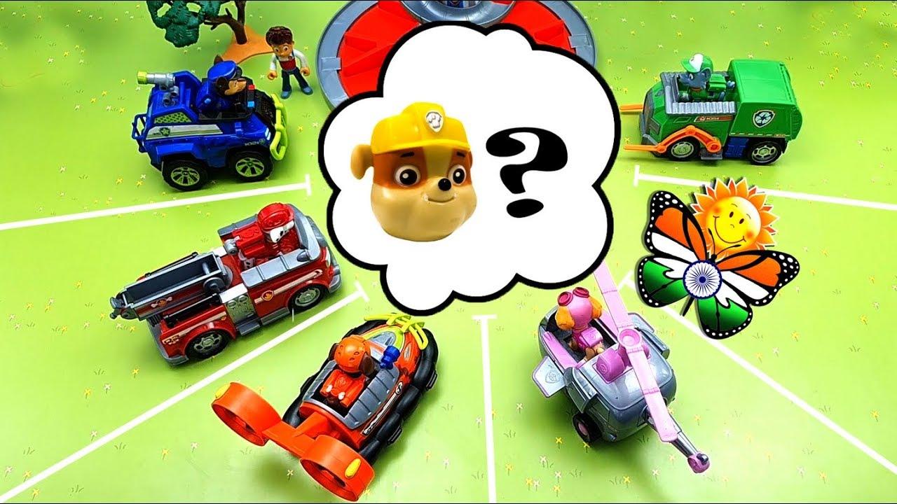 PAW Patrol  🌈 बचाव अभियान। खिलौनों के साथ कार्टून
