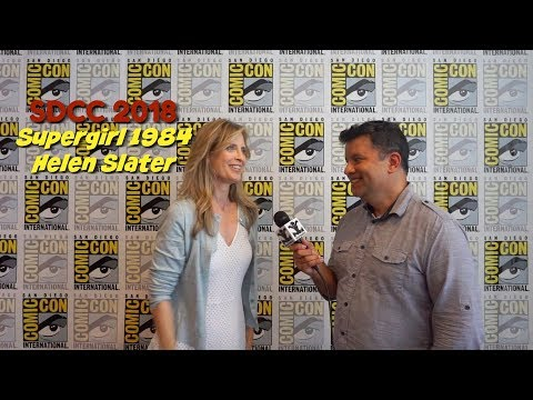 SDCC 2018: Helen Slater  Supergirl 1984
