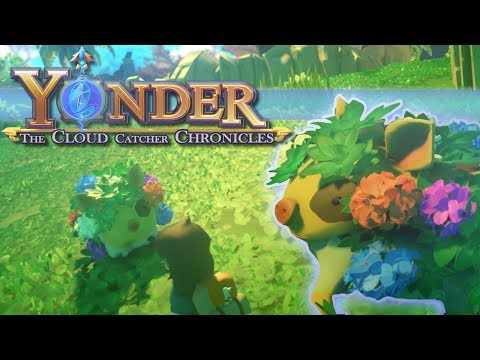 Flower-Growing Sprigpigs?! ☁️Yonder: Cloud Catcher Chronicles - Episode #2