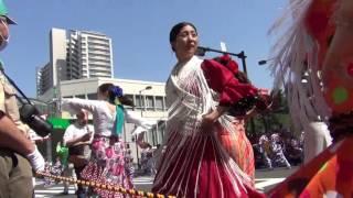赤羽馬鹿祭り'17 パレード ベニート・ガルシア フラメンコ