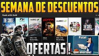 DESCUENTOS DE LA SEMANA | DEALS WITH GOLD XBOX ONE Y 360 !