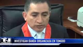 Investigan banda organizada en Tongod