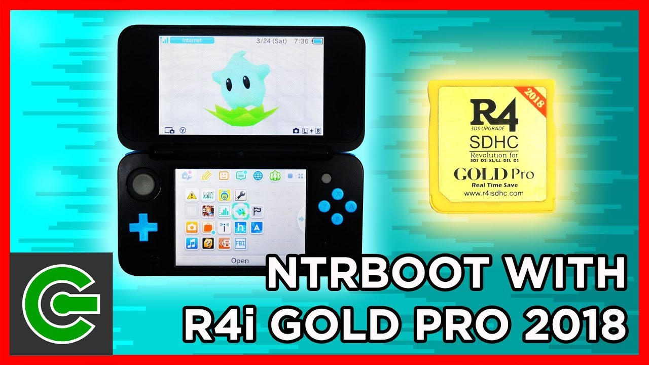 How to do Ntrboothax using R4i Gold Pro 2018 flashcart