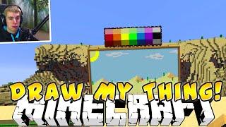 Minecraft` DRAW MY THING (MINIGAME) w/Preston and Brayden