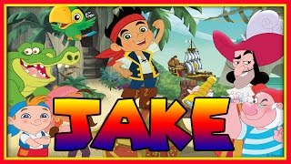 Jake and the Neverland Pirates Peter Pan Returns! - Rainbow Wand Colour Quest - [Full Episode Game]