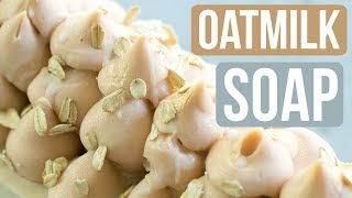 Oatmilk Handmade Soap with Freshly Ground Oats   Royalty Soaps
